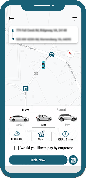 Taxi App - Customer Application - Soft SUave