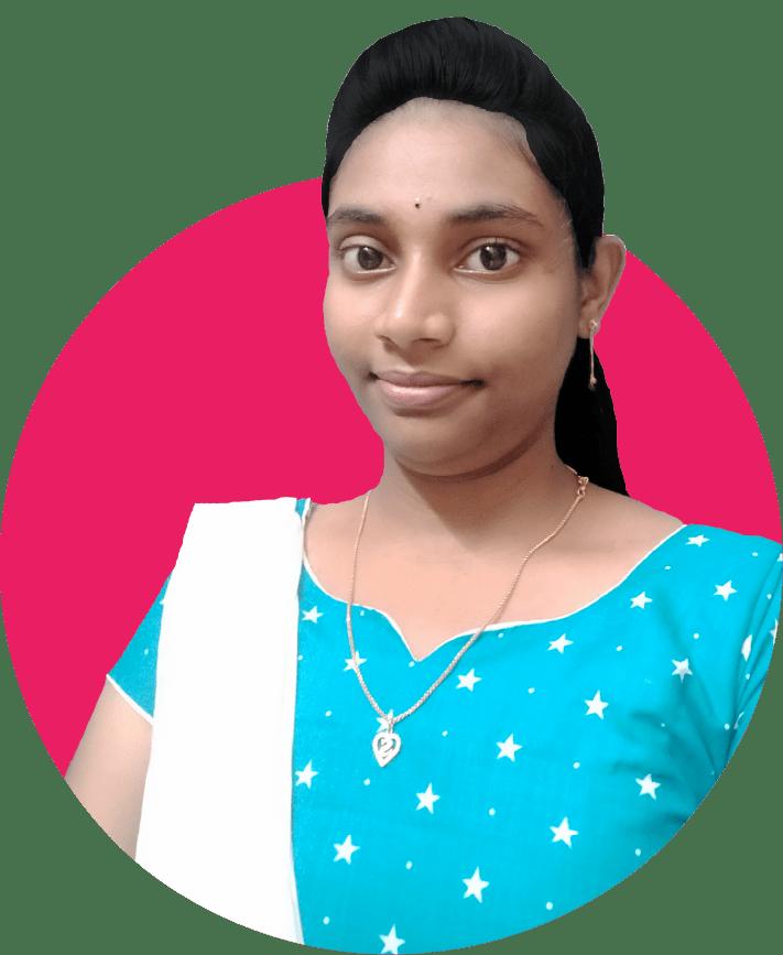 Dharani Antharvedi back-end developer at Soft Suave