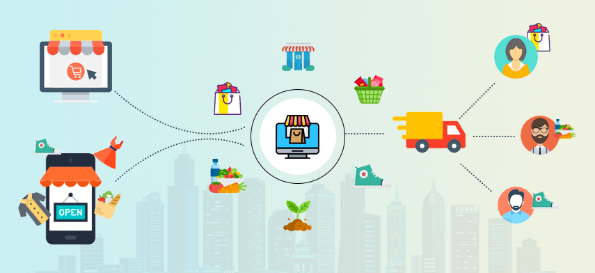 Different Models of Grocery Delivery Application