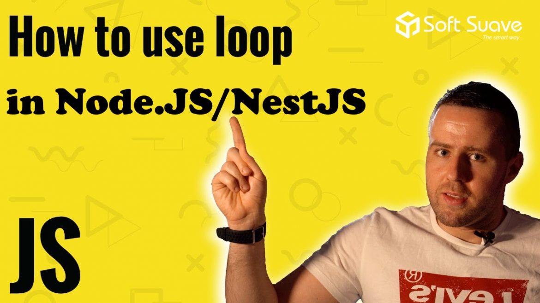 Nodejs / NestJS – How should we use await statements inside the Foreach loop