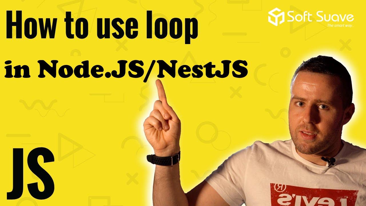 Nodejs NestJS Foreach loop