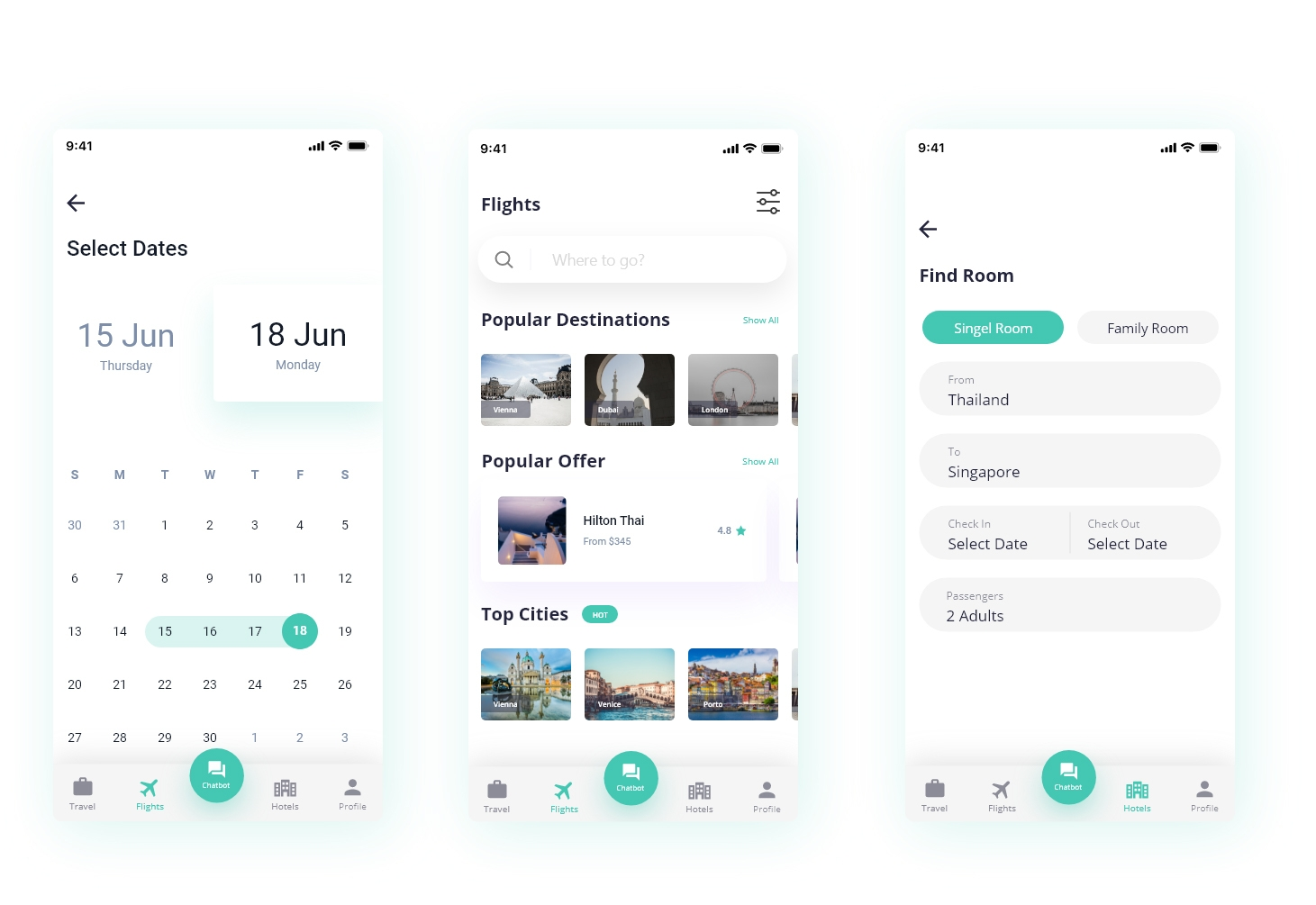 Basic Features to Integrate into Travel Booking App