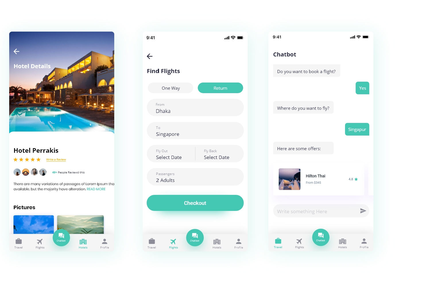 Types of travel booking app development Soft Suave