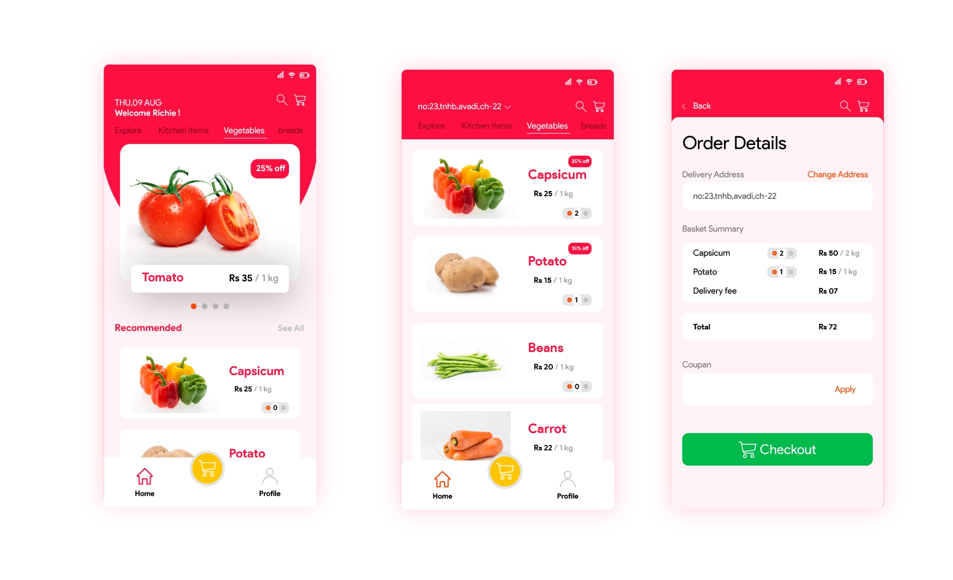 Multi-vendor Marketplace - Customer Mobile App by Soft Suave