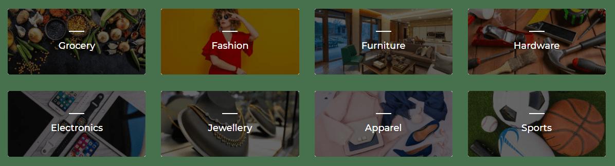 multi-vendor marketplace for different industries