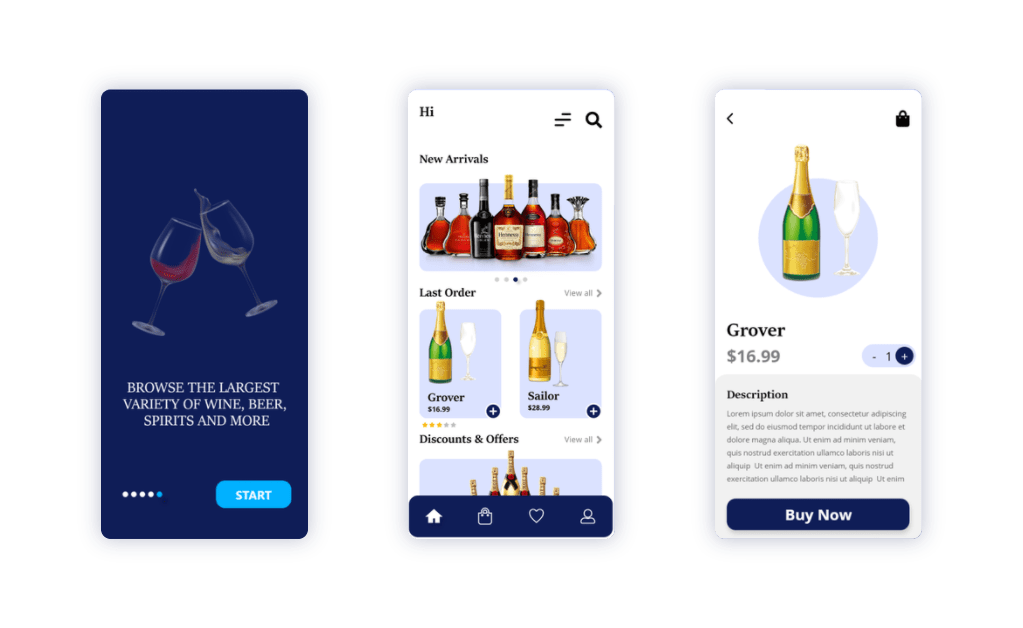 Build Multi-vendor Marketplace App for Liquor Store