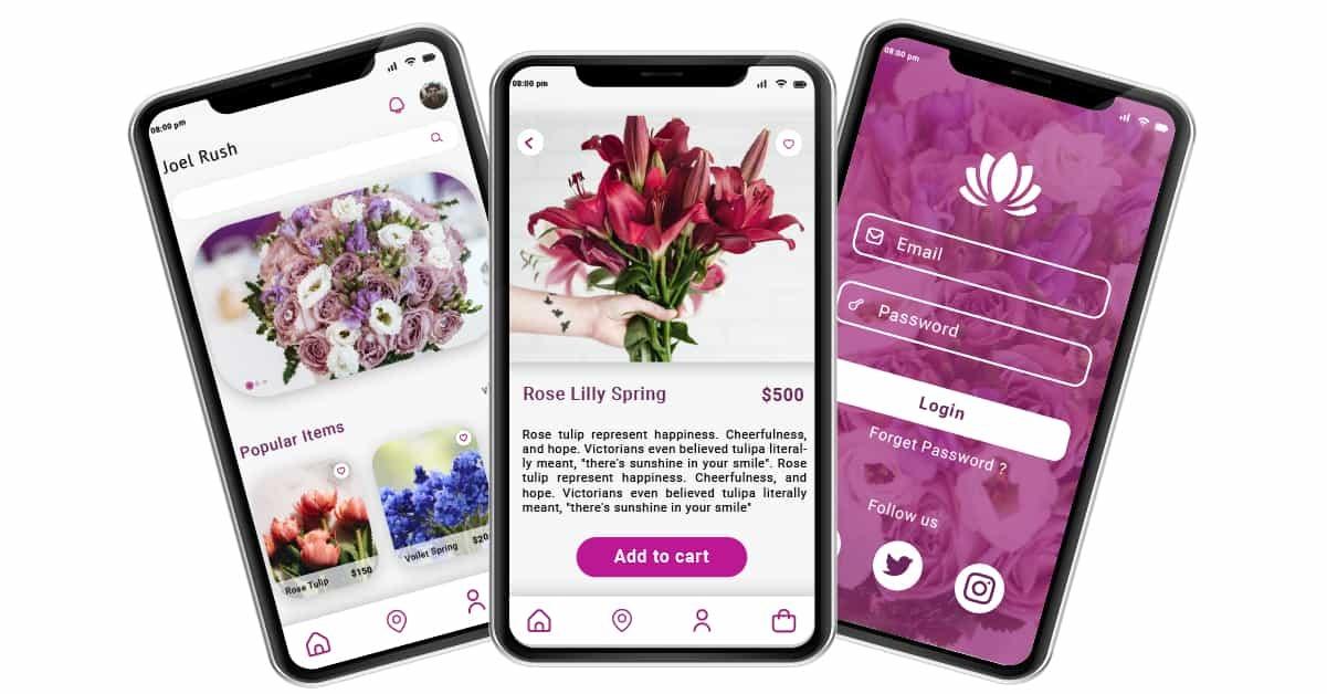 Flower Delivery App Development Soft Suave