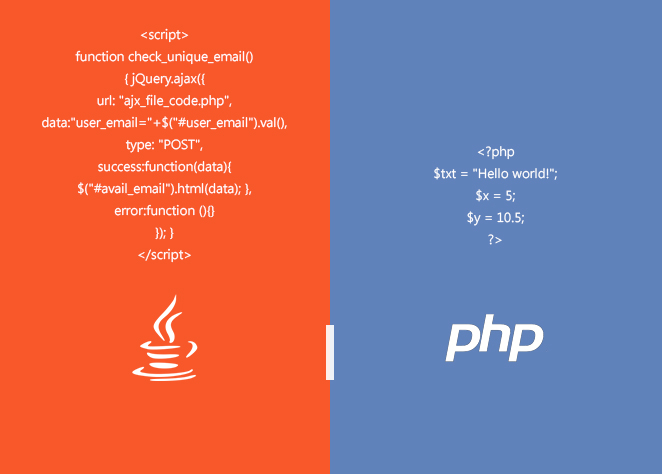 PHP or JAVA which one is good for web development