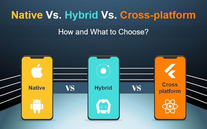 Native vs Hybrid vs Cross-Platform - Which One Should I Choose